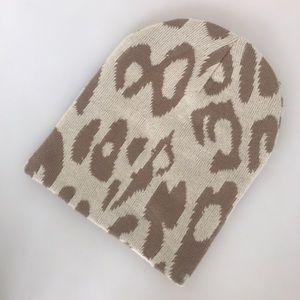 Michael Stars leopard print hat